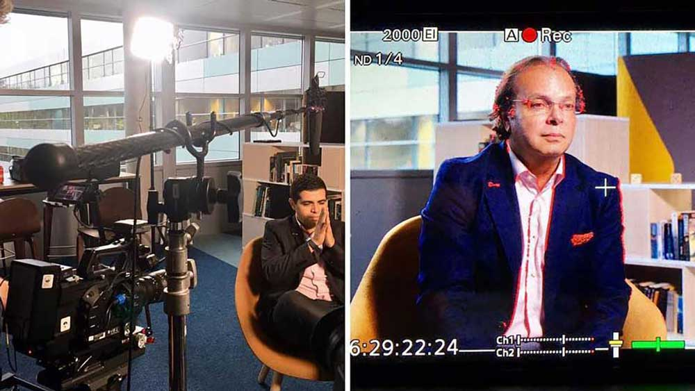 Corporate film - Interview