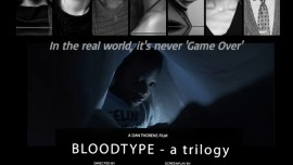 Bloodtype (teaser) by Thorens / Clarke - POSTER BLOODTYPE, Dan Thorens, Feature film, Belgium, Canada, France