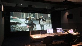 Dolby Atmos Mixing Stage